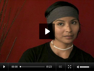 Indigenous Arts Network - Nadya Kwandibens