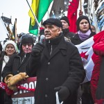 Idle No More Rally, Ottawa, ON - Dec. 21, 2012